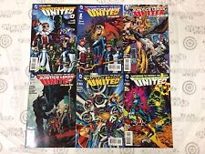 Justice League United JLU #0-5 Comic Book Set DC 2014 - New 52