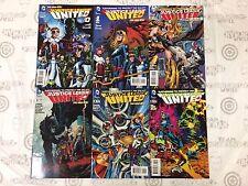 Justice League United JLU #0-5 Comic Book Set DC 2014 - New 52