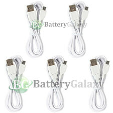5 NEW USB 6FT Micro Charger Cable for Phone Samsung Galaxy S5 S6/Edge/Core Prime
