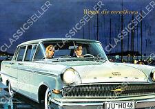 Opel Kapitän P 2,6 Poster Plakat Bild Kunstdruck Schild Affiche Reklame Werbung
