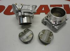 DUCATI HORIZONTAL + VERTICAL CYLINDERS  BARRELS SET WITH HQ PISTONS 748R
