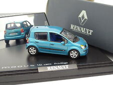 Norev 1/43 - Renault Modus DCI Turquoise