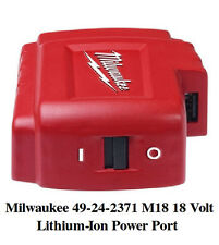 NEW Milwaukee 49-24-2371 M18 18V Lithium-Ion USB Power Port for cellphone iPhone