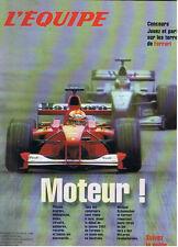L'EQUIPE MAGAZINE  Numéro spécial FORMULE 1  SAISON 2001