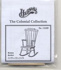 Boston Rocker 13109  dollhouse furniture kit Houseworks 1/12 scale wood rocking