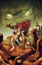 Red Sonja Vs Thulsa Doom #3 Will Conrad Virgin Art Variant