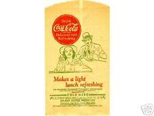 Vintage Coca Cola No Drip Lunch Counter Scene Coke