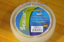 Seaguar Premier Fluorocarbon leader 100 pound 25 yard tuna live bait igfa rated