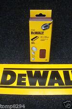 PACK OF 3 X DEWALT DT3662 64MM X 356MM SANDING BELTS 80GRIT D26480 SANDER