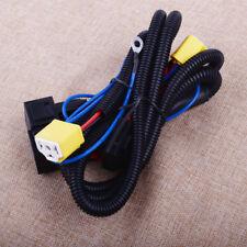 Car H4 Headlight Relay Wire Wiring Harness 2 Light Lamp Bulb Ceramic Socket 12V