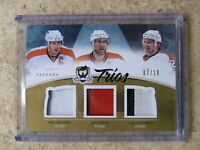 10-11 UD The Cup Trios Patch MIKE RICHARDS / JEFF CARTER / CLAUDE GIROUX /10