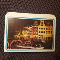 Fly to Amsterdam by KLM - Vintage Card Letter