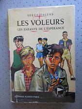 """SCOUTISME. SIGNE DE PISTE.""""LES VOLEURS"""" SERGE DALLENS. ILLUST.JOUBERT..B.E"""