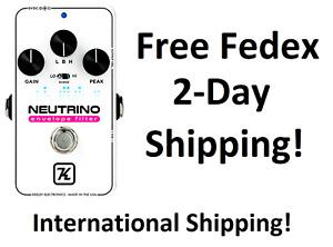 New Keeley Neutrino V2 Envelope Filter Guitar Effects Pedal