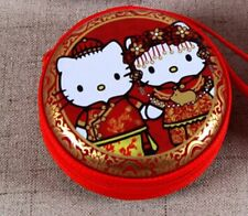 NEW HelloKitty Wedding Picture Hand Holding coin bag handsfree case  65a2 Red