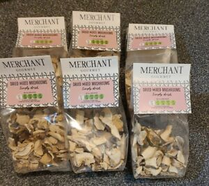 Merchant Gourmet - Dried Mixed Mushrooms  6 x 25g