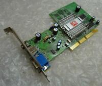 Genuine 128MB Radeon 9200 1024-9C11-J2-SA VGA AGP Graphics Card