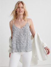 LUCKY BRAND Women's Stylish Layla Floral Cami Top Size L NWT Lined $74.50
