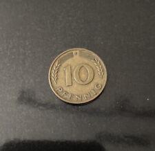 10 Pfennig 1950 F 100% Original!!!