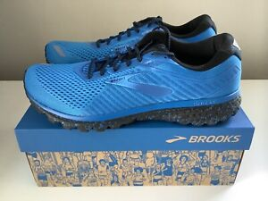 NEW Brooks Ghost 12 Splash Collection LE Men's Running Shoes - Blue - Sz 10.5