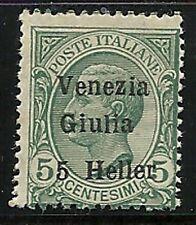 Austria Offices Abroad -  VENEZIA GUILIA  1918  Scott  no. N31