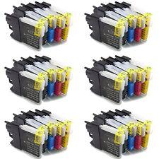 50 Druckerpatronen Kompatibel für Brother DCP 195C LC1100 MFC5890CN  DCP145C