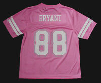 NWT Dez Bryant 88 Dallas Cowboys MESH Pink Mtlc Jersey Jr Womens Youth Sz S M L