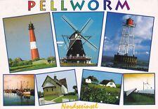Pellworm   ,Ansichtskarte, gelaufen