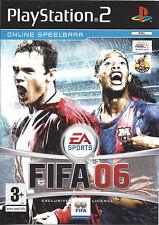 FIFA 06 for Playstation 2 PS2 - with box & manual - PAL