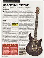 The Hartley Peavey HP Signature USA Custom guitar 8 x 11 sound check review