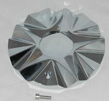 LEXANI ICE NO LOGO WHEEL RIM CHROME CENTER CAP MS-CAP-L196 REPLACES ICE-3(RWD)