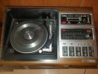 Vintage 70's Zenith Allegro Sound System HR596W 8-track Record Player Radio