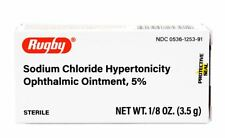 Rugby Sodium Chloride Hypertonicity Ophthalmic Ointment, 5% (Muro 128)