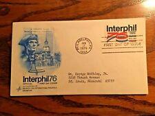 Seventh Usa International Philatelic Exhibition Stamp Show, Interphil '76 Cover