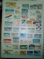 Flugzeuge Lot Briefmarken Sellos Timbres Stamps