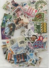 GB 1980-1984 packet of 150 + different used stamps many complete sets few gaps