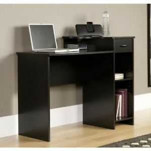 Mainstays Student Desk with Easy-glide Drawer - Blackwood Finish