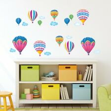 Decowall Hot Air Balloons Nursery Kids Removable Wall Stickers Decal DW-1301AC-2