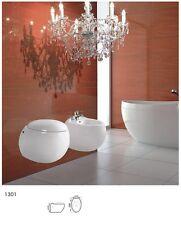Toilettendeckel Toilettensitz Klobrille für Wand-Hänge WC Toilette Softclose F32