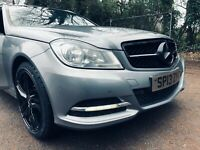 mercedes c class c200 executive cdi auto sport black alloys