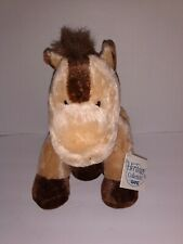 """Ganz Heritage Collection Tan Brown Horace Horse Plush H6107 11"""" Tall"""