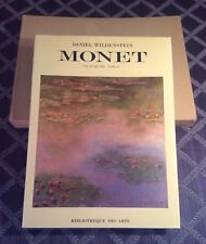 Claude Monet Vie Et Oeuvre Daniel Wildenstein Tome IV~1985~Very Fine~French Ed.