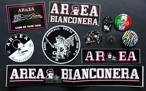 ADESIVI ORIGINALI DELL'EPOCA MISTI AREA BIANCONERA JUVENTUS ORIGINAL STICKERS
