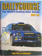 RALLYCOURSE 2001-2002 RICHARD BURNS SUBARU MOTORSPORT BOOK ISBN:1903135052