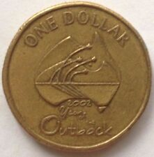 Australia 1 Dollar 2002 coin (Year of The Outback)