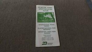 Burlington Northern Glacier Park Brochure 1970