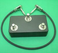 3 Button footswitch pedal with TRS cable  FS3X FS300 Eventide aux switch FS3