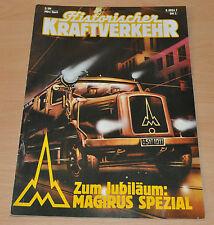 Historischer Kraftverkehr HIK 2/89 Lanz Bulldog Magirus VW Bus Bulli Primus