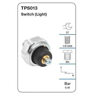 Tridon Oil Pressure Switch TPS013 fits Honda S2000 2.0 (AP)
