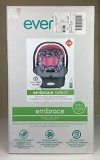Evenflo Embrace Select A-25 Infant Car Seat/Blossom Pattern.